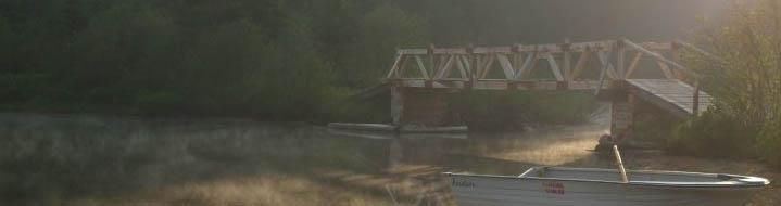 passerelle lac laviolette