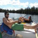 michel houle pêche sur broquerie